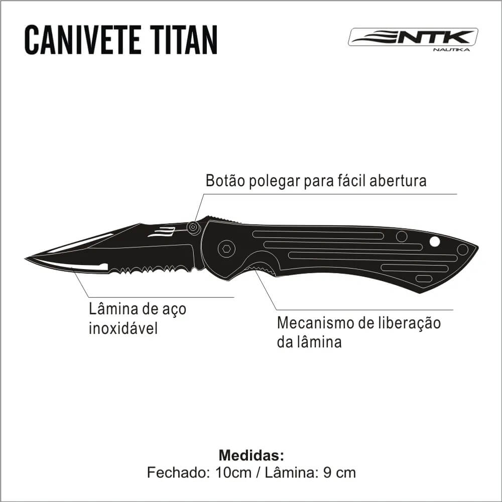 Canivete Nautika Titan