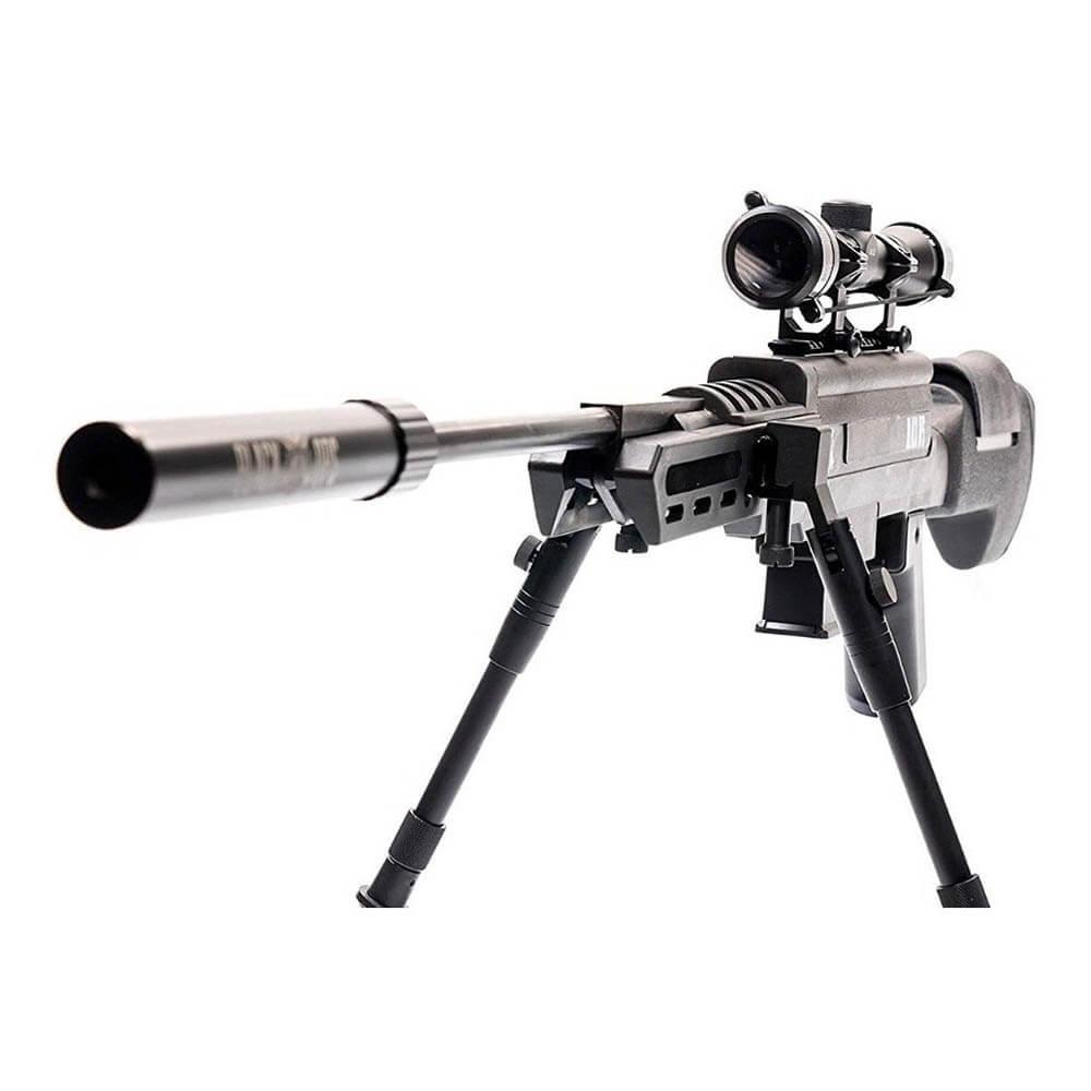 Carabina de Pressão Black Ops 5,5mm Gás Ram + LUNETA 4x32 + Bipé