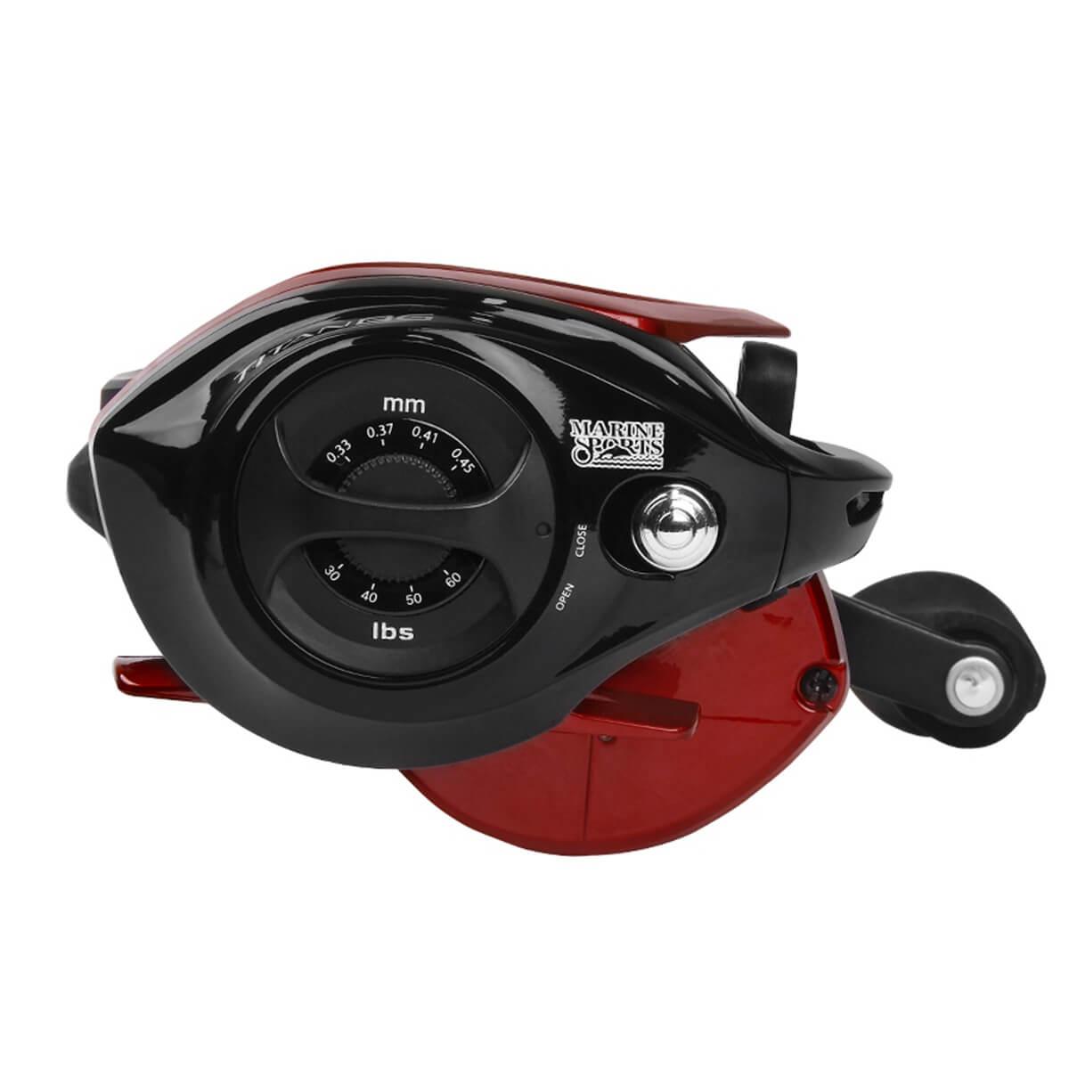 Carretilha Marine Sports Titan BG 12000 Pro 8.1:1 Drag 12kg