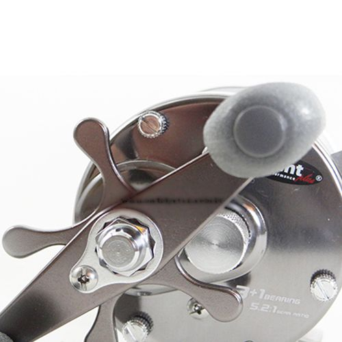 Carretilha Saint Plus Tracker 500H Recolhimento 5.2:1 Drag 7,7kg