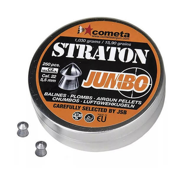 Chumbinho Straton Jumbo 5.5mm Cometa By Jsb 250un