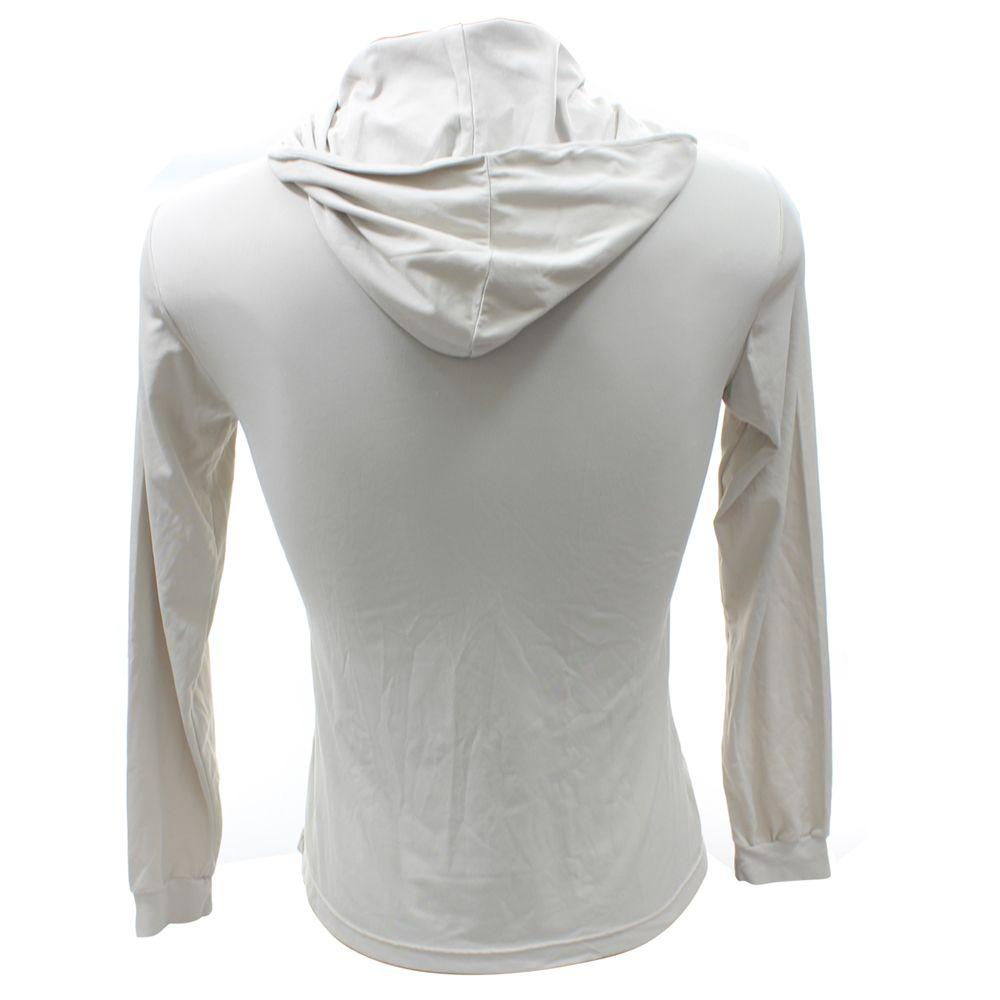 Camiseta Feminina Ballyhoo com Capuz com Proteção Solar Filtro UV Cinza
