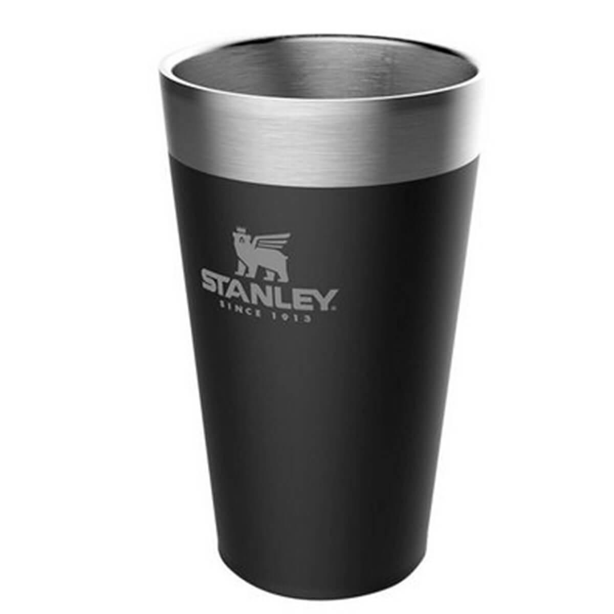 Copo de Cerveja sem Tampa Stanley Matte Black 473ml Térmico