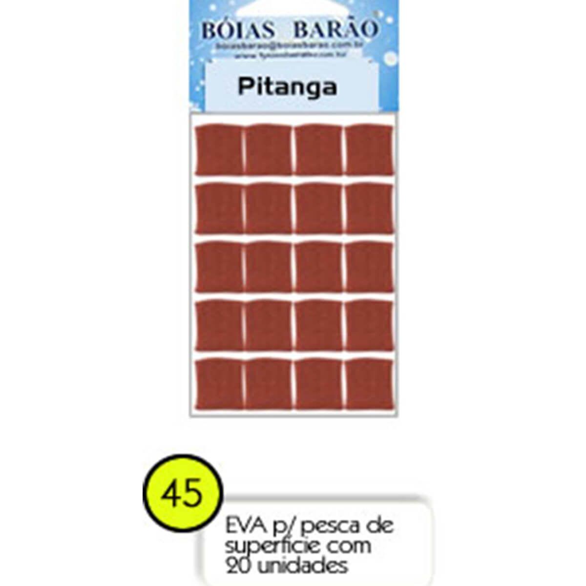 Eva Flutuador Boias Barão 12mm 20 unid - Nº45