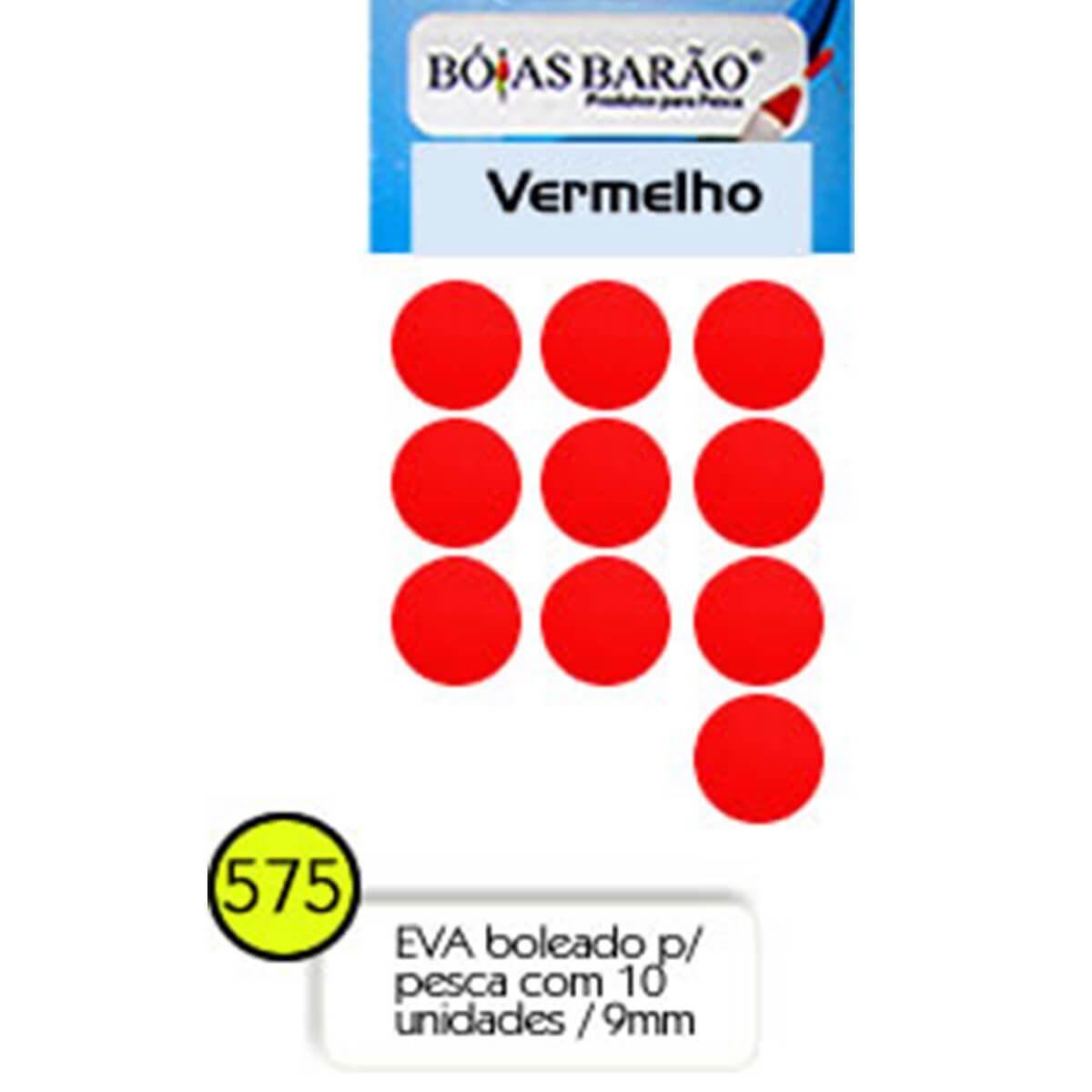 Eva Flutuador Boias Barão 9mm 10 unid - Nº 575