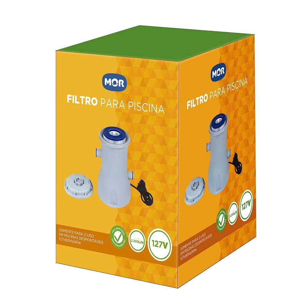 Filtro Mor Para Piscina 2.200 L/h 110v