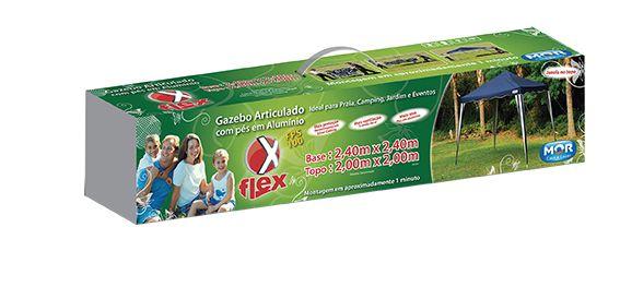 Gazebo Mor Articulado Flex 3x3m