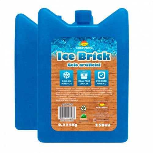 Gelo Artificial Ice Brick Guepardo
