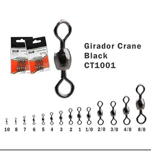 Girador Crane Celta N°7 9mm 52Lbs 23,6kg 20 unidades