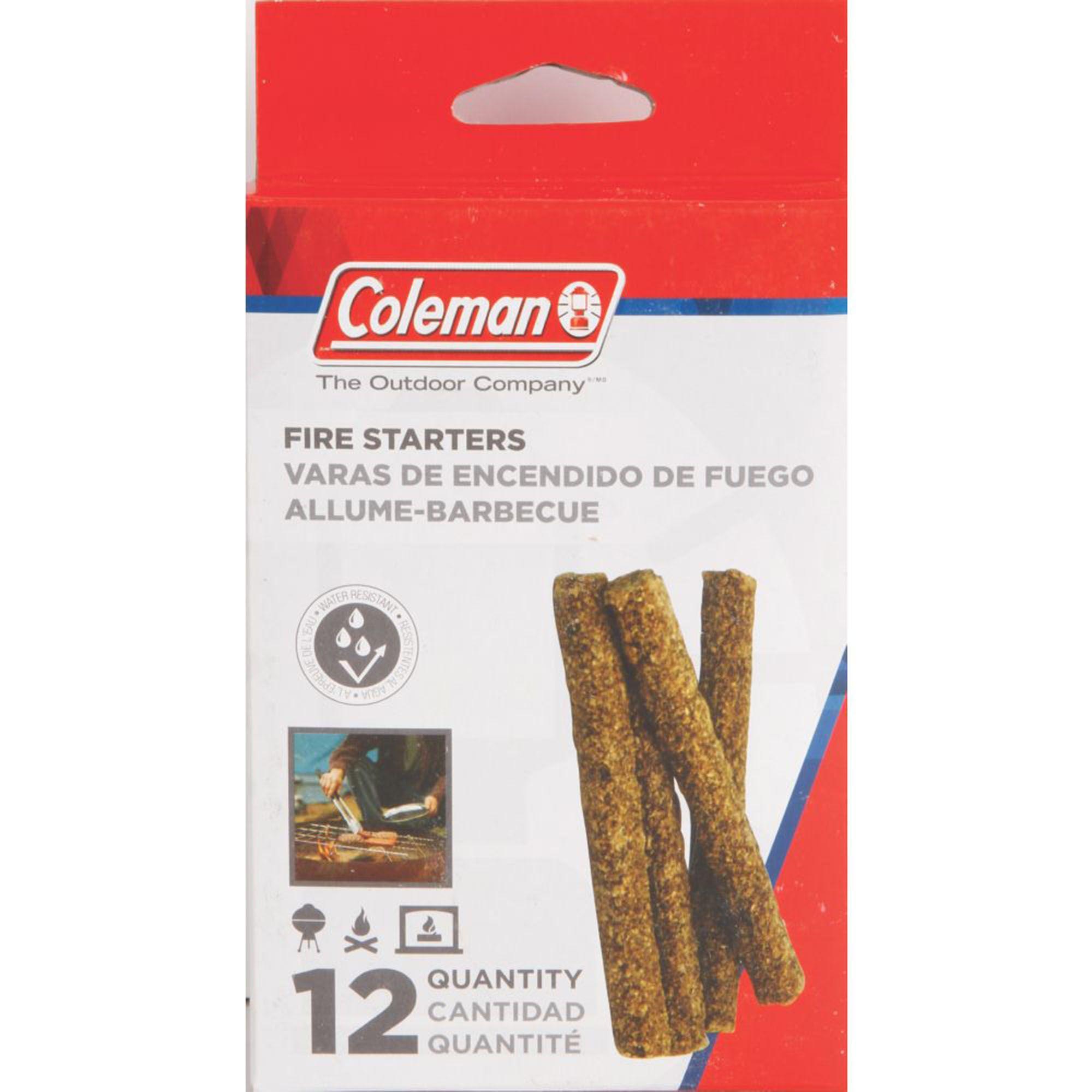 Iniciador de Fogo Coleman Natural para Churrasqueira