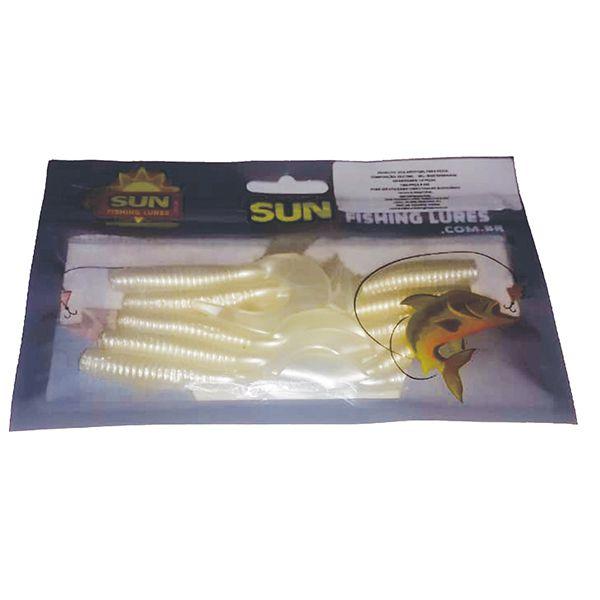 Isca Artificial Sun Fishing Lures Grub 6cm 10un