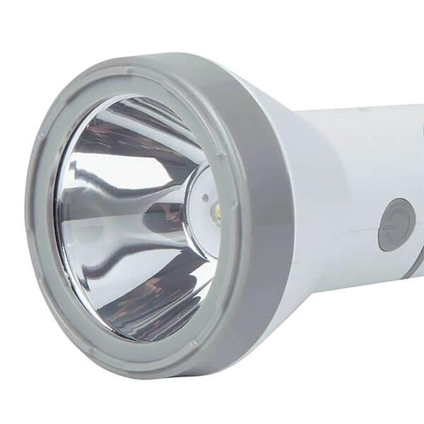 Lanterna 140 Lumens Branca Recarregável