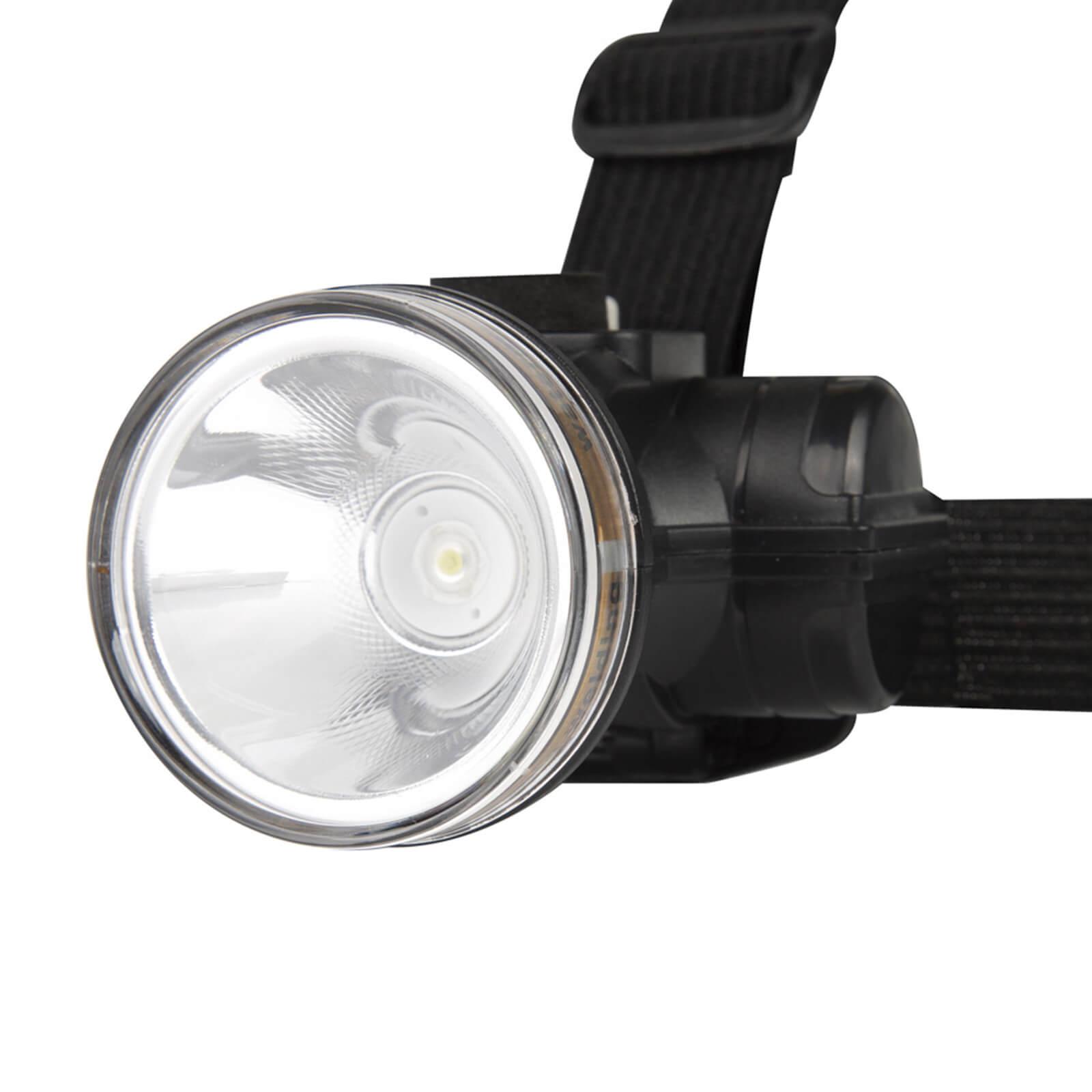Lanterna de Cabeça Recarregável 90 Lúmens Mor