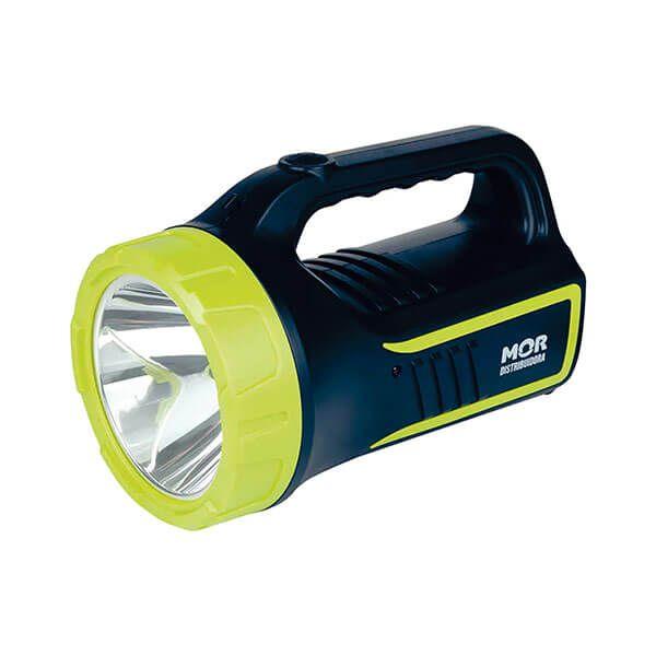Lanterna Holofote Power Led 265 Lúmens Recarregável