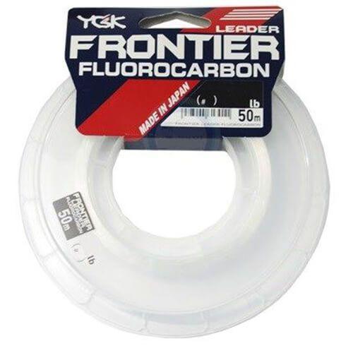 Linha Leader YGK Frontier Fluorocarbon 35lb 0,55m 50m