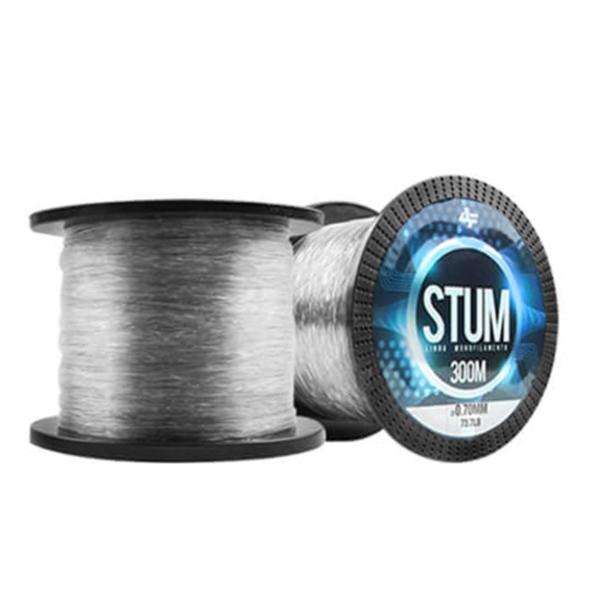 Linha Monofilamento Albatroz Stum 0,70mm 73,7lb 300m