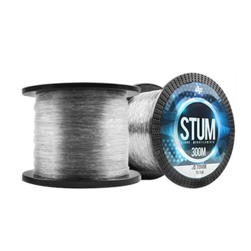 Linha Monofilamento Albatroz Stum 0,80mm 89,4lb 300m