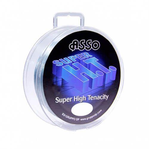 Linha Monofilamento Asso® Super HT Transparente 0,50mm 100m