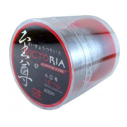 Linha Monofilamento Maruri Victoria Crystal 0,37mm 19lb 600m