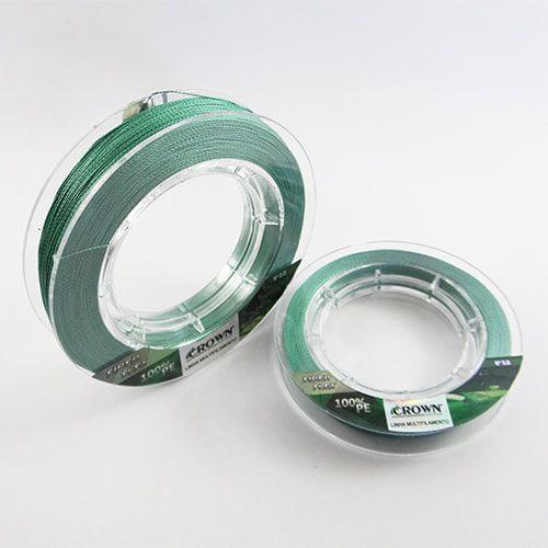 Linha Multifilamento Crown Fiber Flex 0,20mm 24lbs 300m