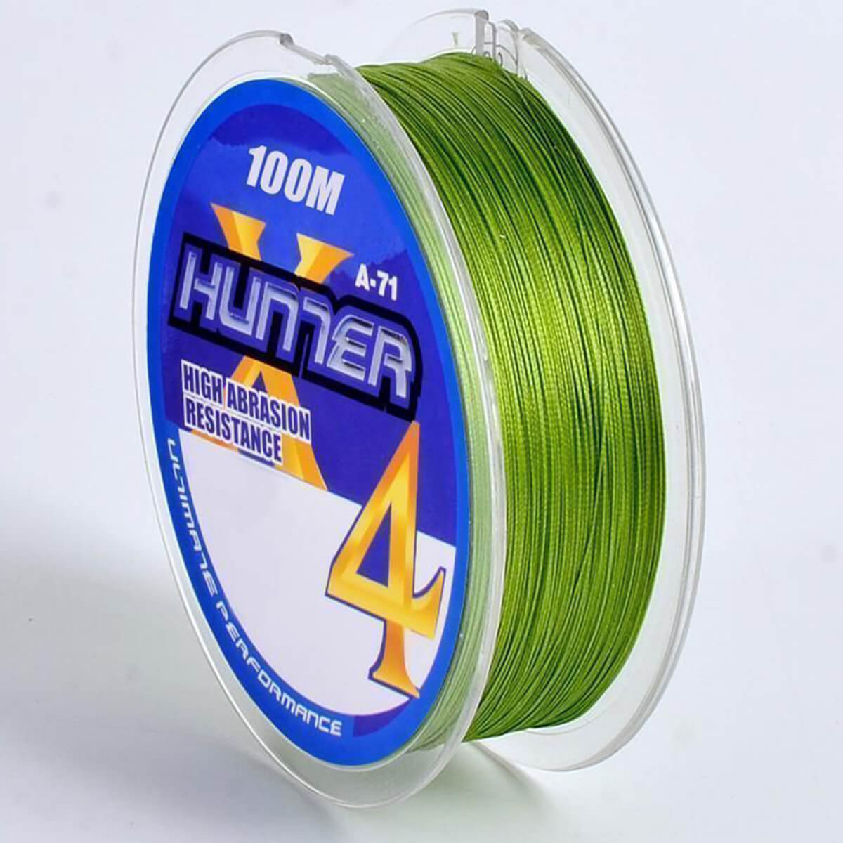 Linha Multifilamento Hunter 4x 0,18mm 9,53kg 100m