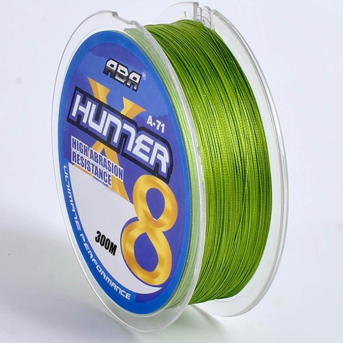 Linha Multifilamento Hunter 8x 0,44mm 27,22kg 300m