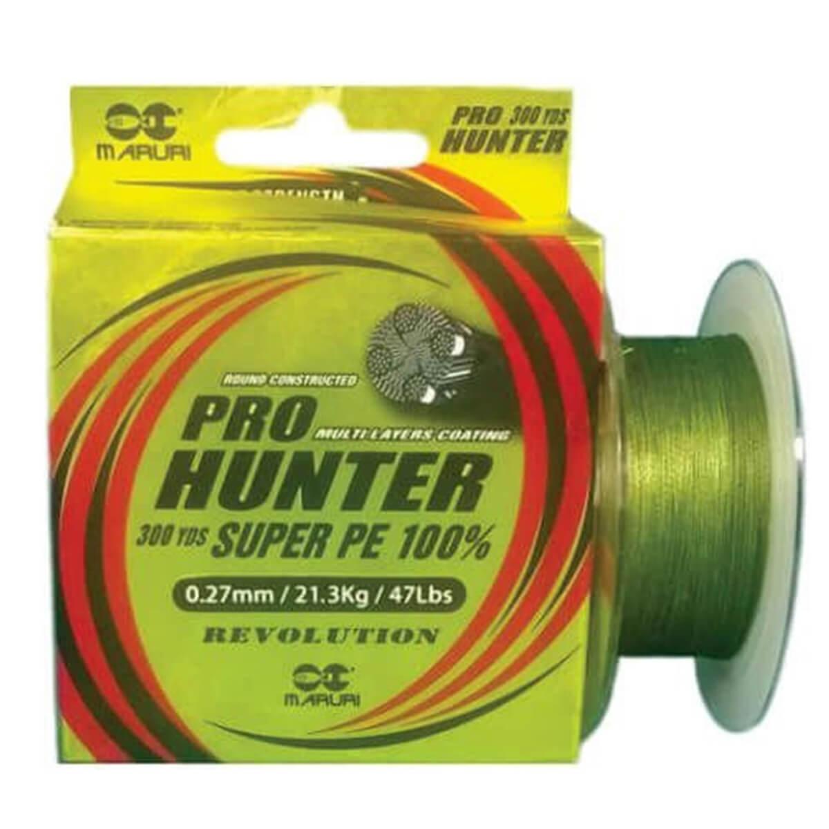 Linha Multifilamento Maruri Pro Hunter PE 0,30mm 23,7kg 270m