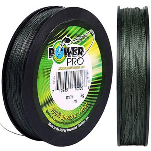 Linha Multifilamento Power Pro 15lb 275m 7kg Verde