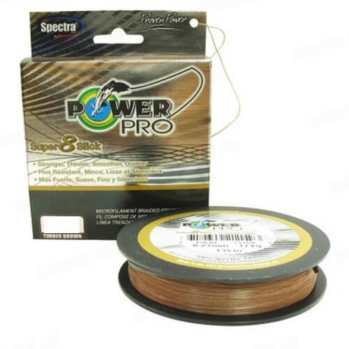 Linha Multifilamento Power Pro Super 8 Slick 50lb 135m