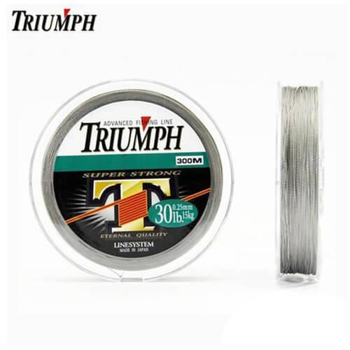 Linha Multifilamento Triumph Super Strong PE 0,25mm 30lb 150m