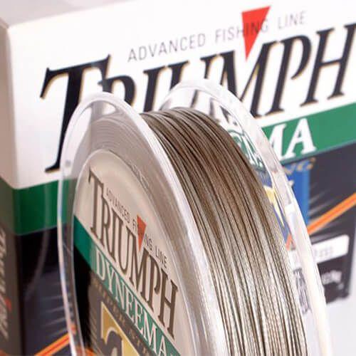 Linha Multifilamento Triumph Super Strong PE 0,29mm 40lb 150m
