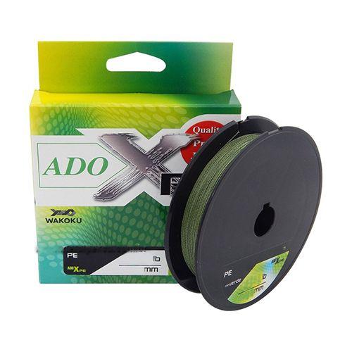 Linha Multifilamento YGK ADO-X PE 24lb 0,23mm 150m