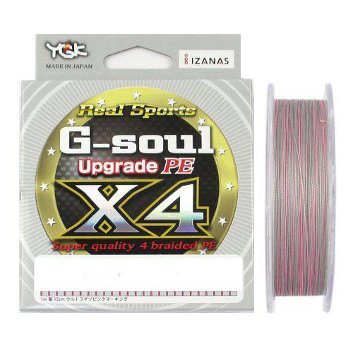Linha Multifilamento YGK G-Soul Upgrade PE X4 14lb 200m