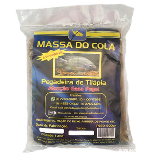 Massa do Cola Pegadeira de Tilápia 500gr