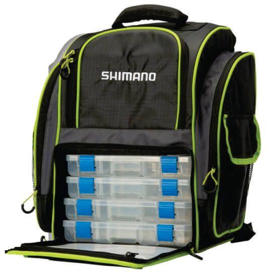 Mochila Shimano Bag Pack LUG1511 25 Litros c/4 estojos