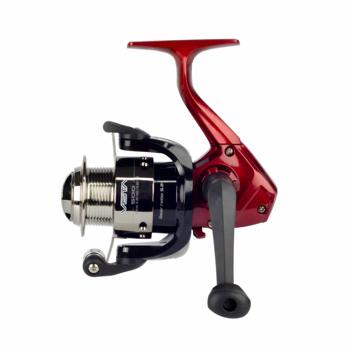 Molinete de Pesca Neo Plus Vista 1000 Fricção Dianteira Recolhimento 5.2:1