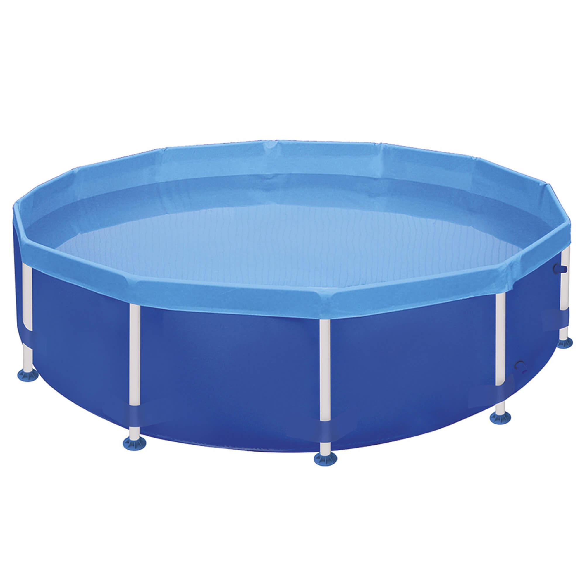 Piscina Circular Mor 4.500 litros com estruturas