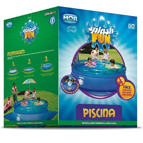 Piscina Inflável Mor Splash Fun 2400 litros