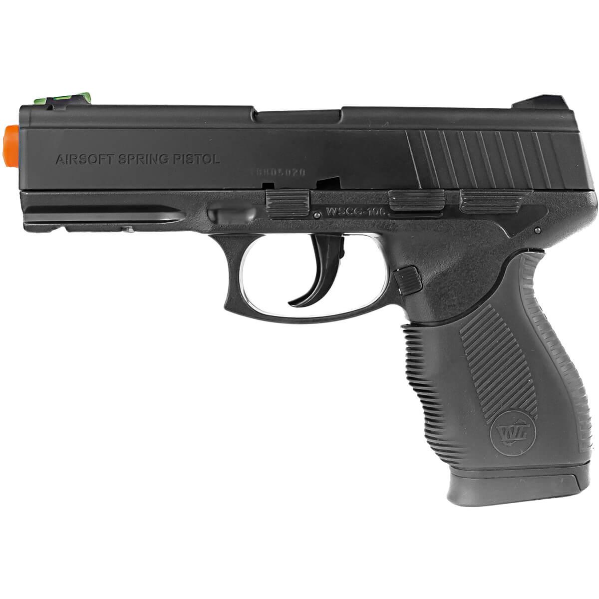 Pistola Airsoft Win Gun 24/7  6mm Spring Rossi