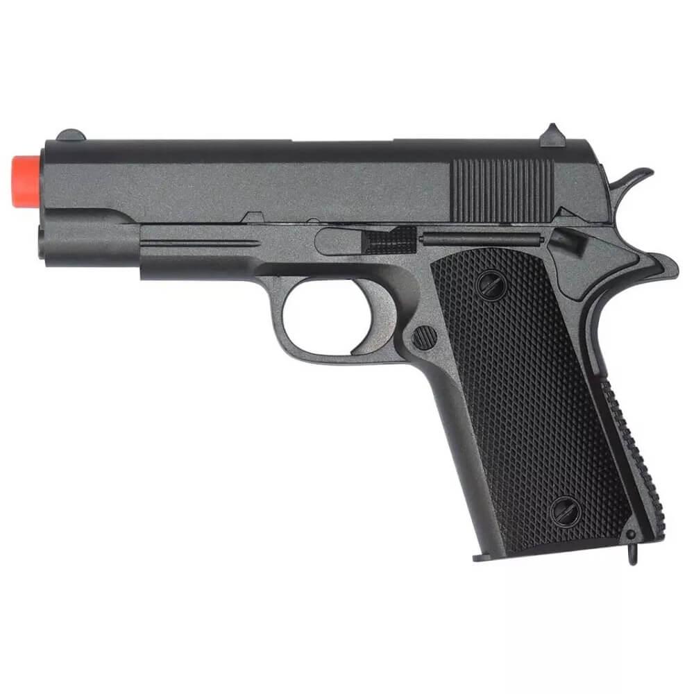 Pistola de Airsoft Zm 04 Ação A Mola 6mm