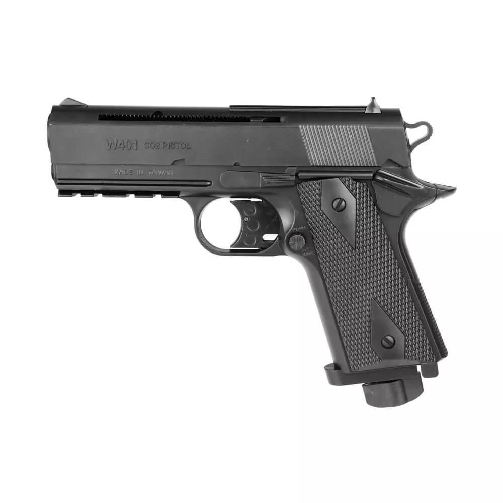 Pistola De Co2 Wingun W401 Polímero 4,5mm Rossi