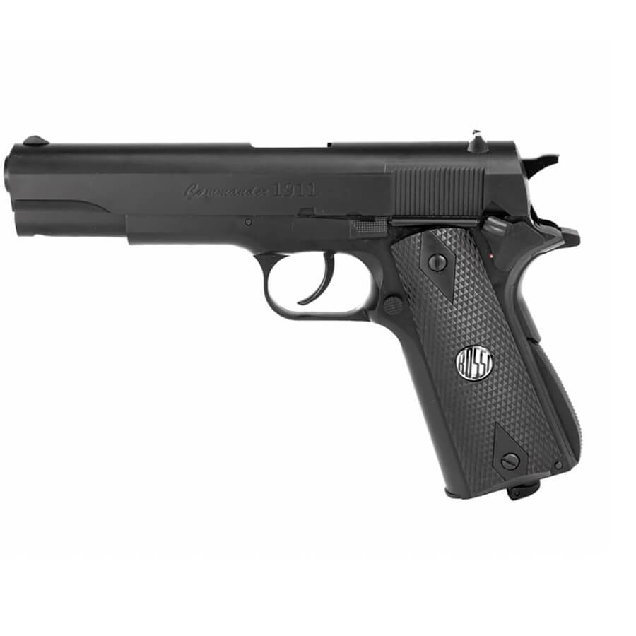 Pistola de Pressão a Gás CO2 W125B Slide Fixo 4.5mm – Wingun