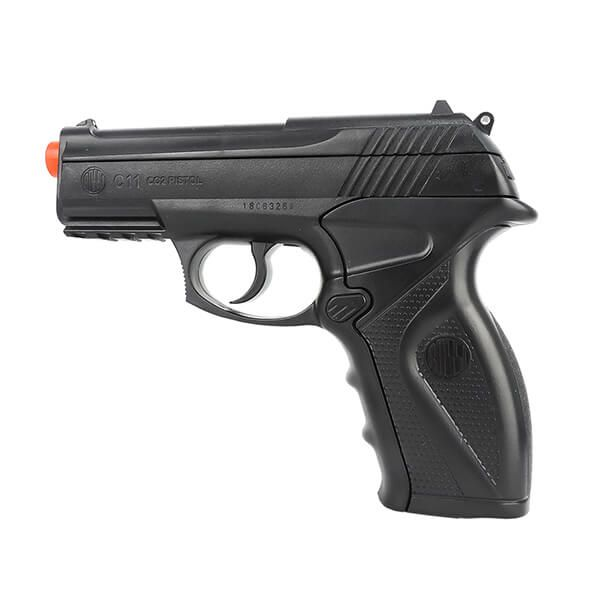 Pistola de Pressão CO2 WG C11 4,5mm 17 Tiros Rossi