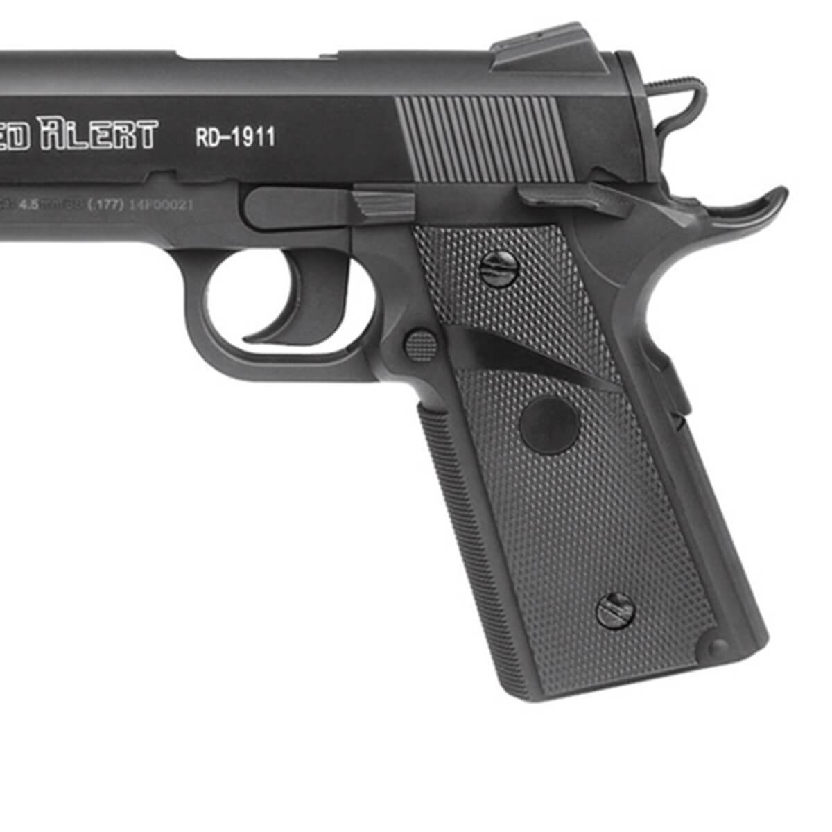 Pistola de Pressão Gamo Red Alert RD-1911 4,5mm Co2