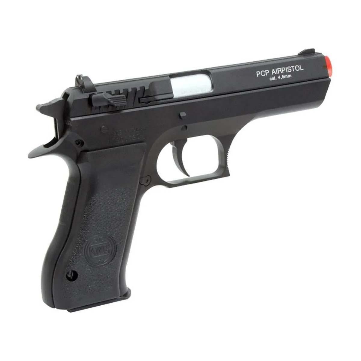 Pistola de Pressão PCP KWC P45 Calibre 4,5mm Rossi + Bomba