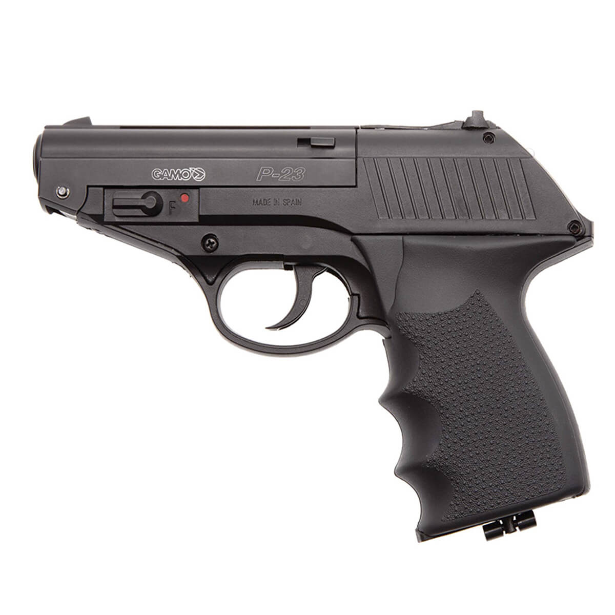 Pistola Pressão Gamo Co2 P-23 4,5mm Chumbinho e Esfera de Aço