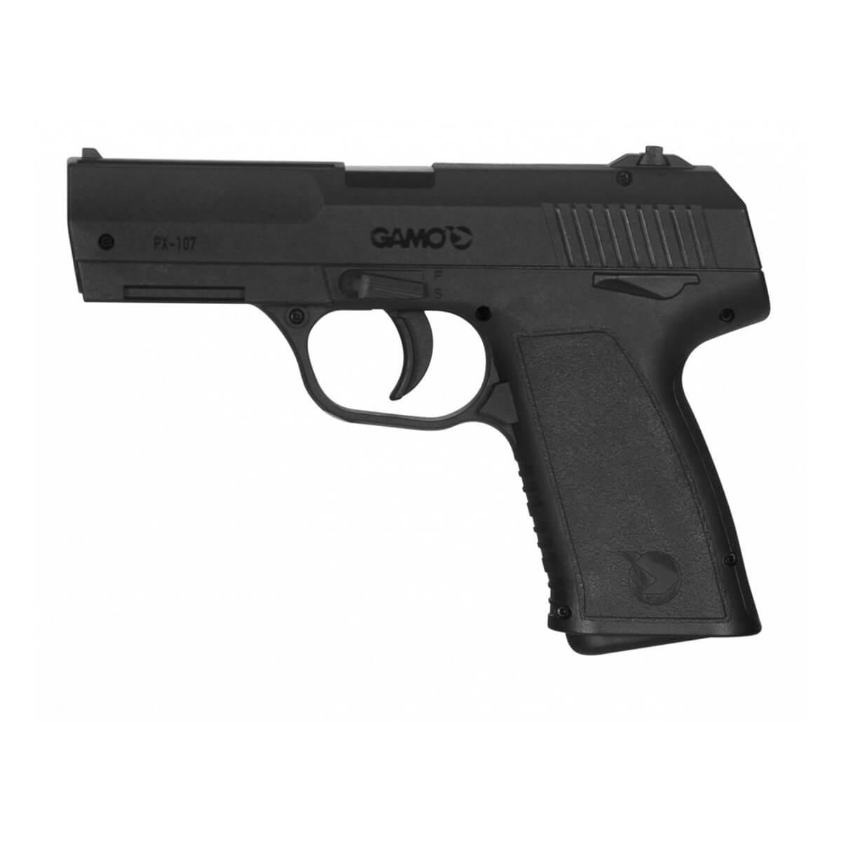 Pistola Pressão Gamo Co2 PX-107 4,5mm Esfera de Aço