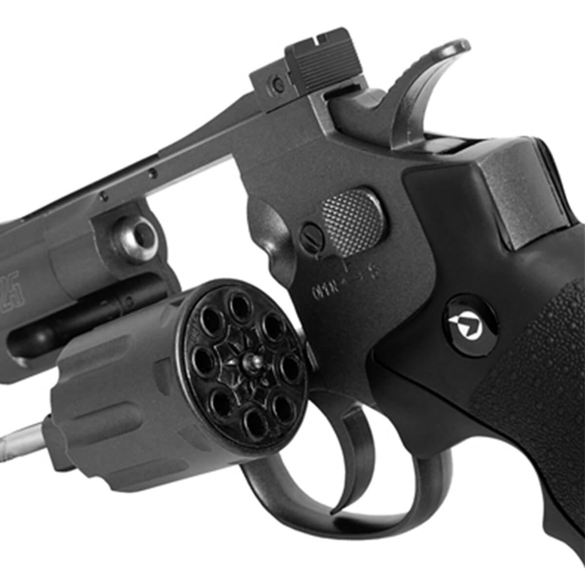 Revólver de Pressão CO2 Gamo  PR-725 calibre 4,5mm Chumbinho