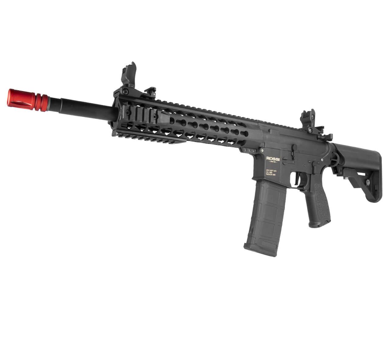 """Rifle Airsoft AR15 Neptune Keymod 10"""" Elet + Esfera 0,20gr"""