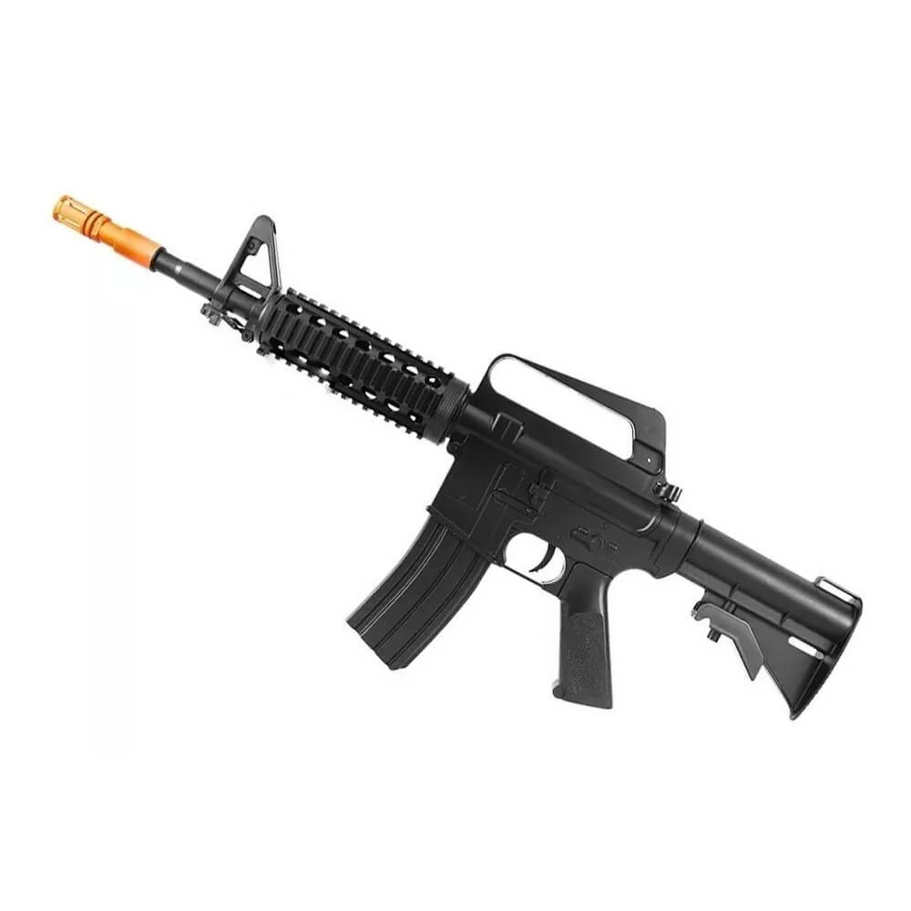 Rifle Fuzil Airsoft Vigor Vg M16ris 6mm Spring